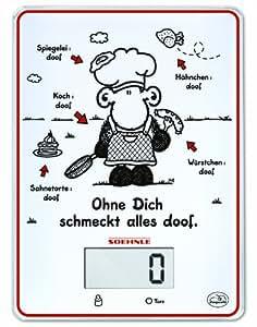 Leifheit 66180 Küchenwaage Sheepworld Ohne Dich