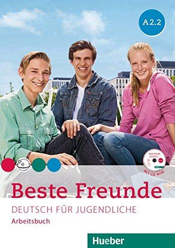 BESTE FREUNDE A2.2 Arb.+CD-ROM(ejerc.) (BFREUNDE) por Manuela Georgiakaki
