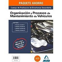 PAQUETE AHORRO ORGANIZACIÓN Y PROCESOS DE VEHÍCULOS CUERPO DE PROFESORES DE ENSEÑANZA SECUNDARIA