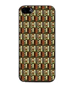 Fuson Designer Back Case Cover for Apple iPhone 5 (lines square box art artistic)