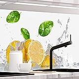 StickerProfis Küchenrückwand selbstklebend - Fruit Splash - 1.5mm, Versteift, alle Untergründe, Hart PET Material, Premium 60 x 400cm