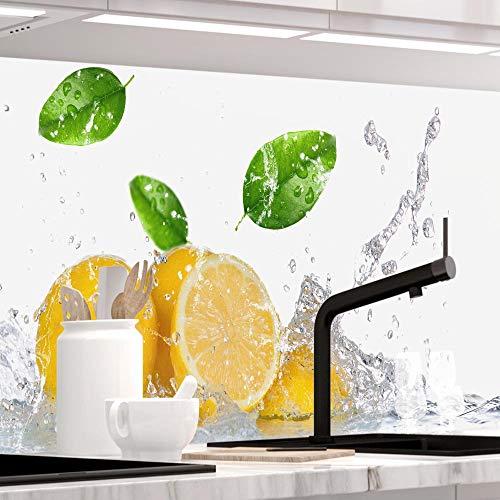 StickerProfis Küchenrückwand selbstklebend - Fruit Splash - 1.5mm, Versteift, alle Untergründe, Hart PVC, Premium 60 x 340cm