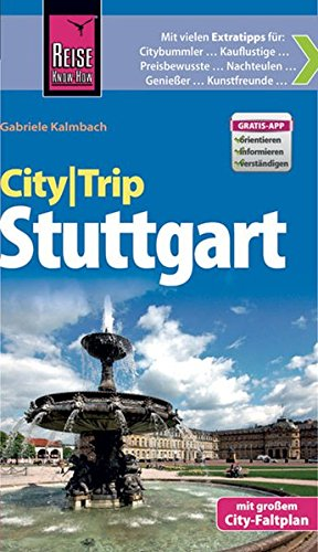 CityTrip Stuttgart: Reiseführer mit Faltplan und kostenloser Web-App