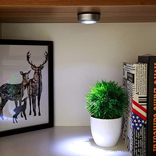 ZHENWOFC Startseite batteriebetriebene LED Nachtlichter selbstklebende Touch Sensor Lampe Notlicht Innenlicht -