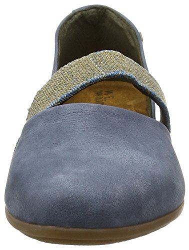 El Naturalista Nd57 Pleasant Stella, Sandali Closed-Toe Donna Blu (Vaquero)