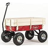 bollerwagen fun trailer long mit hinterachslenkung von eckla spielzeug. Black Bedroom Furniture Sets. Home Design Ideas