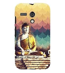 PRINTVISA Religious Buddha Case Cover for Motorola Moto G