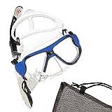 Sportastisch Schnorchelset Taucherbrille Snorkel Star mit extra langem Trockenschnorchel und Tempered Glass | ideal für Erwachsene und Kinder ab 10 Jahre | bis zu 3 Jahre Garantie²