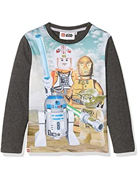 LEGO Star Wars Jungen Langarmshirt - weiß