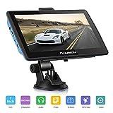 FLOUREON GPS de Coches Navegador para Camiones y Coches, LCD Pantalla Táctil, Sat Nav navegación...