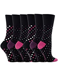 Sock Shop Lot de 6 Paires de Chaussettes Grip doux quotidien pour femme 37–42 Voir plusieurs modifications et Designs