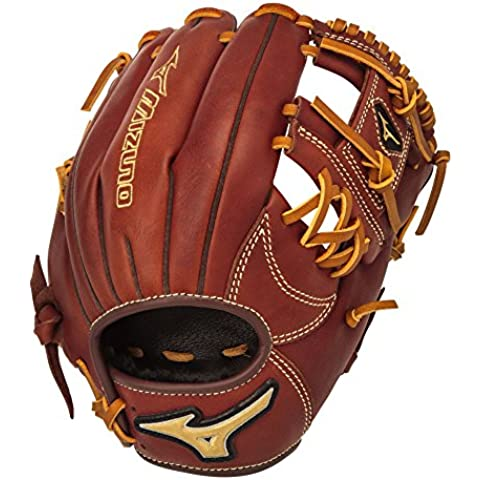 Mizuno MVP Series GMVP1125B2 11.25 Adult Baseball Infield Glove Right-Handed Throw by Mizuno