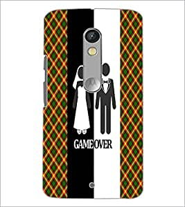 PrintDhaba Couple D-3991 Back Case Cover for MOTOROLA MOTO X PLAY (Multi-Coloured)