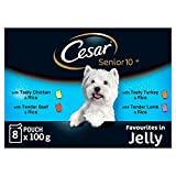Best Cesar Dog Foods - Cesar Fresh Jelly Senior Dog Food Pouches 8 Review