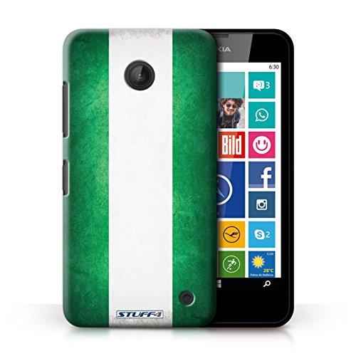 Coque en plastique pour Nokia Lumia 635 Collection Drapeau - Mecico/Mecican Nigeria