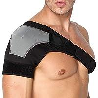 Shoulder Stability Brace Breathable Neoprene Shoulder Support with Pressure Pad For Fitness Sports Adjustable Size Right Shoulder