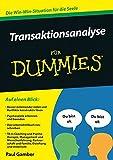 Transaktionsanalyse für Dummies (Amazon.de)