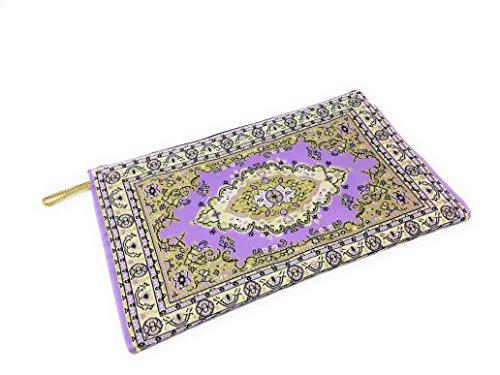 Geldbörse Beutel Münzbeutel Orientalische Portemonnaie aus der Türkei - XL (Lila) (Türkei Geldbörse Die)