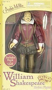 William Shakespeare Action Figura
