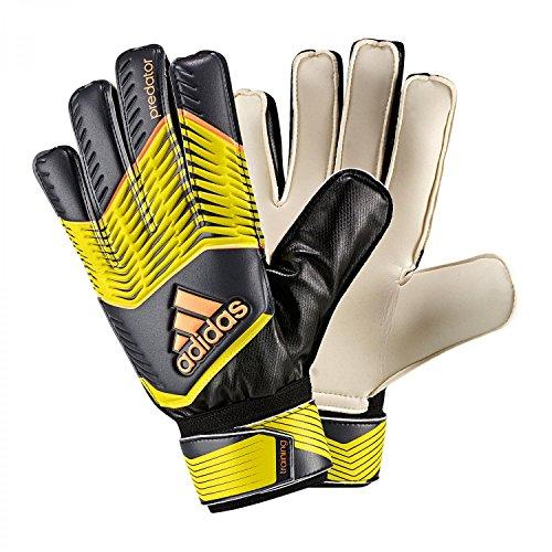 adidas Kinder Torwarthandschuhe Predator Training, Bright Yellow/Dark Grey/Flash Orange S15, 7, M38741