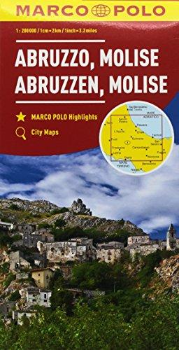 Abruzzo, Molise 1:200.000 (Carte stradali Marco Polo)