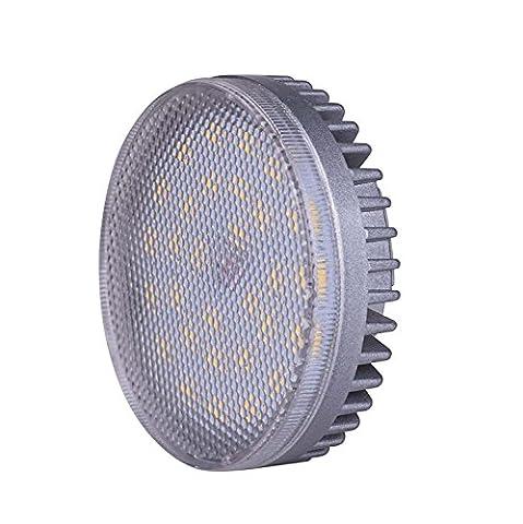 Lampaous® LED GX53 Ampoule, 8 W 640lumens Couleur Blanc neutre, CFL de remplacement, ampoule à économie d'énergie