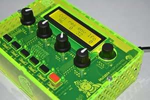 Synthétiseur Shruthi-1 de Mutable Instruments, boîtier Vert fluo
