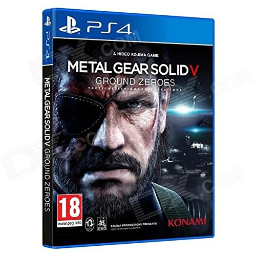 Konami Metal Gear Solid V: Ground Zeroes, PS4