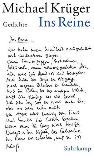 Ein Dichter Von Der Traurigen Gestalt Michael Krügers