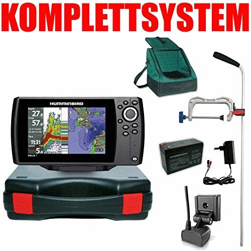 Humminbird Echolot GPS Plotter Portabel Profi Edition Plus- Helix 7 Chirp GPS G3