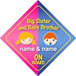 Big Sister And Baby Brother On Board...