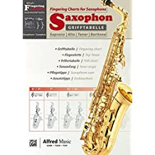 Alfred's Fingering Charts Instrumental Series: Grifftabelle Saxophon   Fingering Charts Saxophone     Saxophon     Buch