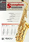 Alfred's Fingering Charts Instrumental Series: Grifftabelle Saxophon | Fingering Charts Saxophone  |  Saxophon  |  Buch