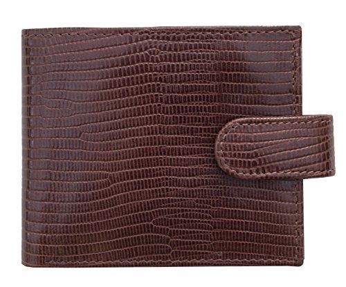 Prime Hide ,  Herren-Geldbörse, braun (braun) - 6610-Brown - Croc Embossed Wallet