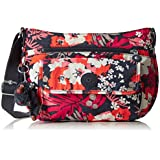Kipling Syro Women's Cross-Body Bag, (B x H x T) 31 x 22 x 12.5 cm - Multicolor/Summery Floral 00S