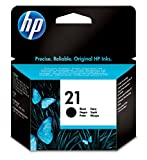 HP 21black Inkjet Print Cartridge schwarz Tintenpatrone–Tintenpatronen (schwarz, HP Deskjet 3910, 3920, 3930, 3940, D1311, D1320, D1330, D1341, D1360, D1420, D1430, D1445, D1455,..., schwarz, Tintenstrahldrucker, 5ml, 5–95%)