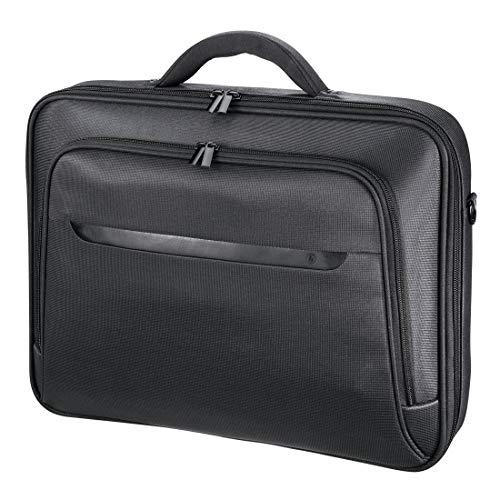 Hama Notebooktasche Miami Life für Laptop / Tablet mit Bildschirmdiagonale 15,6 Zoll / 40 cm, Laptoptasche schwarz -