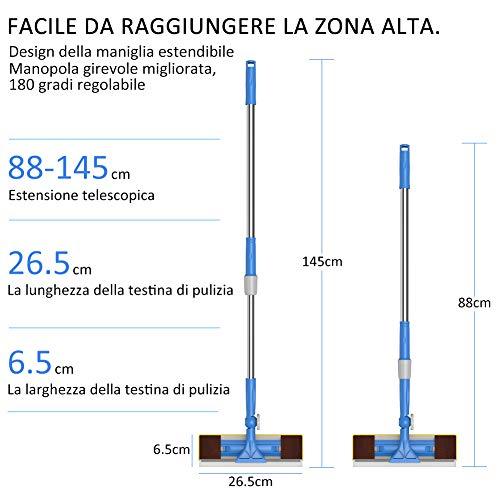 Zoom IMG-1 merisny lavavetri telescopico per vetri