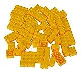 Simba 104114122 - Blox 50 gelbe Steine in Folienbeutel