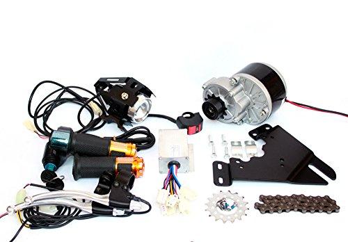250 Watt Pinsel Motor Elektrische Fahrrad Umbausatz Mountainbike Scheibenbremse 16 T Kettenrad Elektrische Fahrrad Side Mount Kettenantrieb Kit (twist throttle kit) - Motor Mount