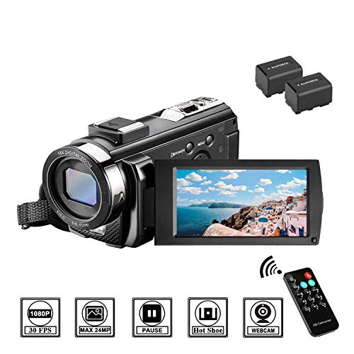 Videocamera full hd 1080p 30fps fotocamera digitale 3.0