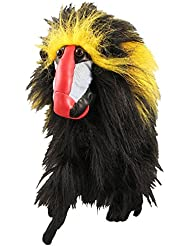 Masters Golf Headcover für Driver Creature Collection Orangutang, Schwarz