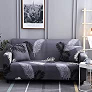 Sofa Cover 1 2 3 4 Seater Polyester Spandex Printed Couch Cover Easy Fit Elastic Fabric Stretch Sofa Protector