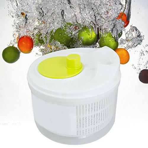 Risingmed Salat Obst Gemüse Spinner Sieb Colander Trockner
