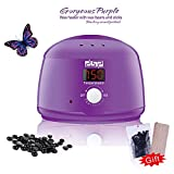 #6: France Design Professional Brazilian, Liposoluble, Paraffin Wax Heater / Warmer With Temperature Regulator, Digital Screen And Detachable Bowl Ideal for Spa, Salon, Parlor Or Home