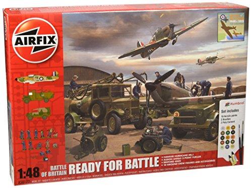 Airfix 1:48 Scale Battle of Britain Ready for Battle Model Kit