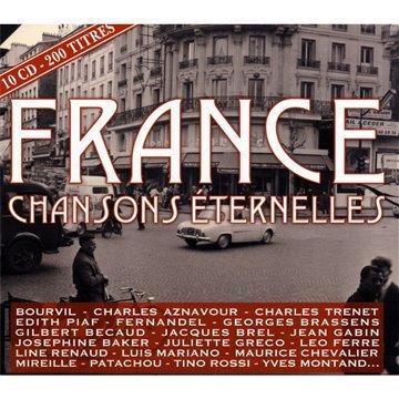 Louis Bauge - France Chansons (Coffret 10