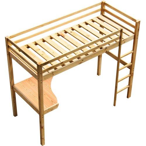 Infantastic Child Bunk Bed with Desk Wooden Bunk Childrens Room Bed