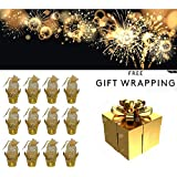 Majik Diwali Gifts For Staff Members, Diwali Gifting In Bulk, Diwali Gifts For Friends And Family, Decorations Basket With Handle For Dry Fruits, Chocolates Best Gift Item For Staff, Relatives, 35 Gram, Set Of 12, Pack Of 1