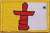 U24 Aufnäher Nunavut Aufbügler Patch